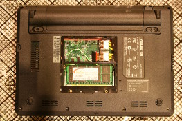 Eee PC 4G (701) - VX Nano receiver in place
