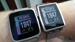 Pebble Time Steel vs Pebble Steel